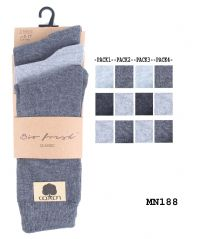 Men socks plain colors suit socks bio fresh cotton rich